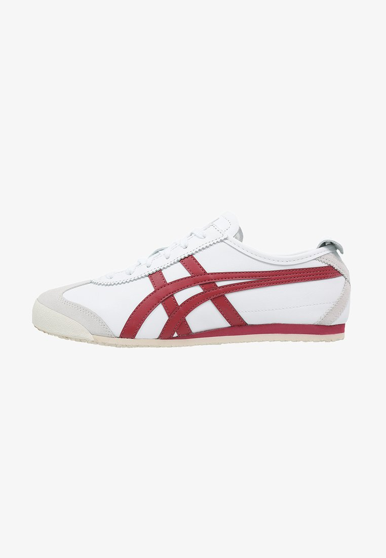 Onitsuka Tiger - MEXICO 66 - Sneakersy niskie - white/burgundy