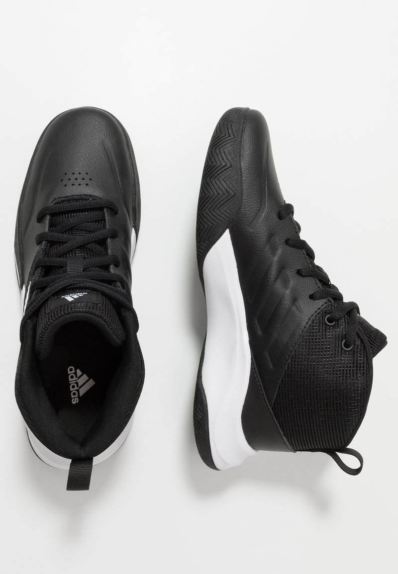 adidas Performance - OWNTHEGAME WIDE - Sports shoes - core black/footwear white