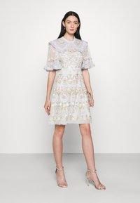 Needle & Thread - REVERIE ROSE MINI DRESS - Cocktail dress / Party dress - blue mist - 1