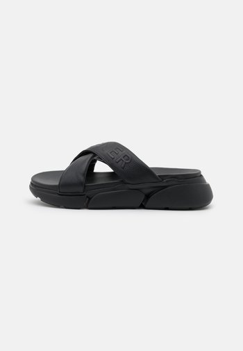VALLETTA  - Heeled mules - black