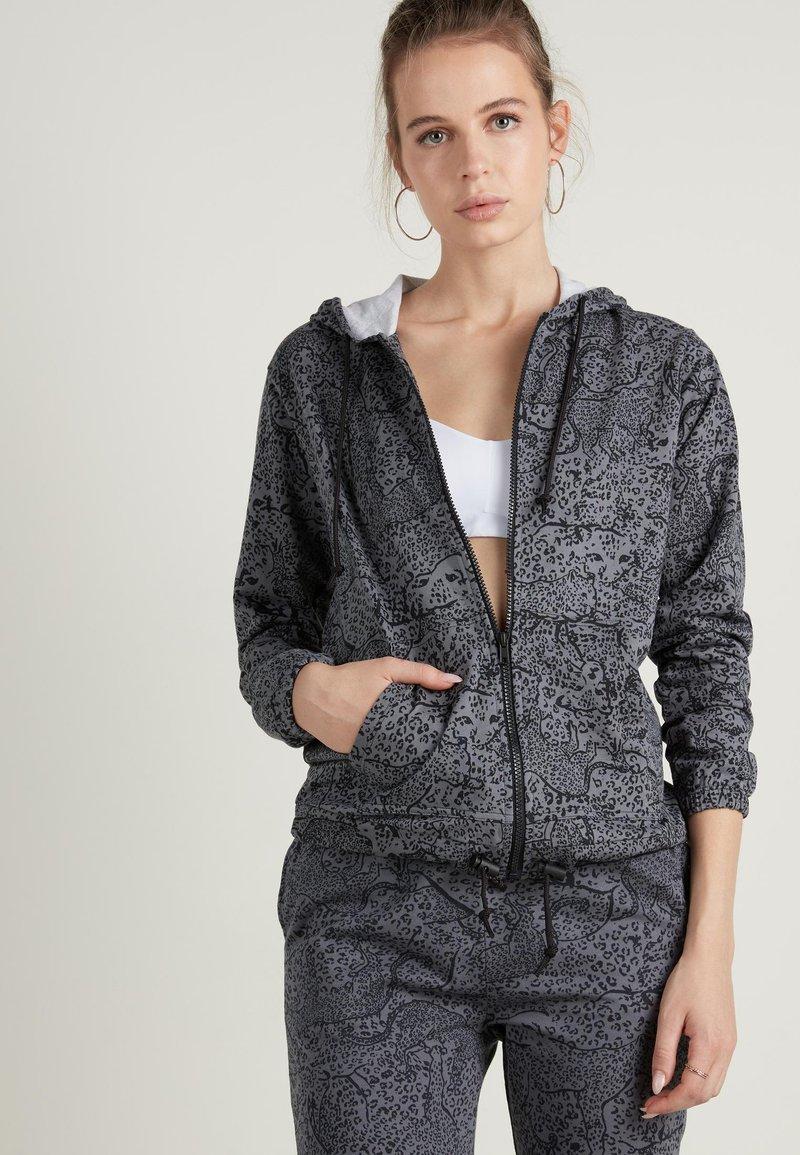 Tezenis - Zip-up hoodie - grau