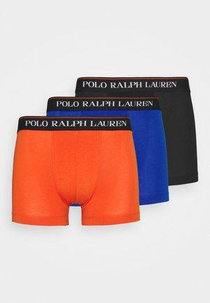 CLASSIC TRUNK 3 PACK - Pants - black/orange/blue