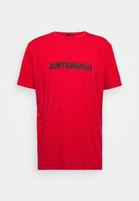 Just Cavalli - Print T-shirt - grenadine red - 4
