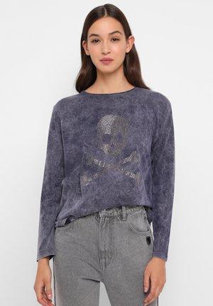 ML BIG SKULL  TEE - Bluzka z długim rękawem - blue
