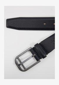 Calvin Klein - DOUBLE BAR BUCKLE - Pásek - black - 5