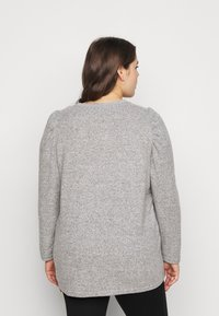 Dorothy Perkins Curve - PUFF SLEEVE - Jumper - grey marl - 2