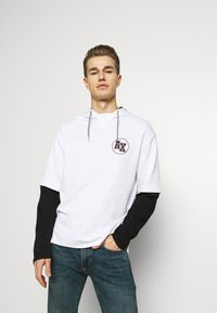 Armani Exchange - Hoodie - white/black - 0
