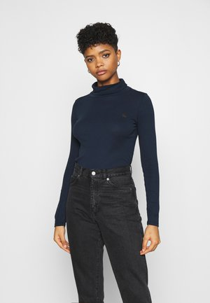 XINVA SLIM TURTLE LONG SLEEVE C - Top s dlouhým rukávem - sartho blue