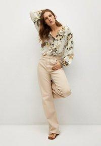 Mango - Button-down blouse - multi-coloured - 1