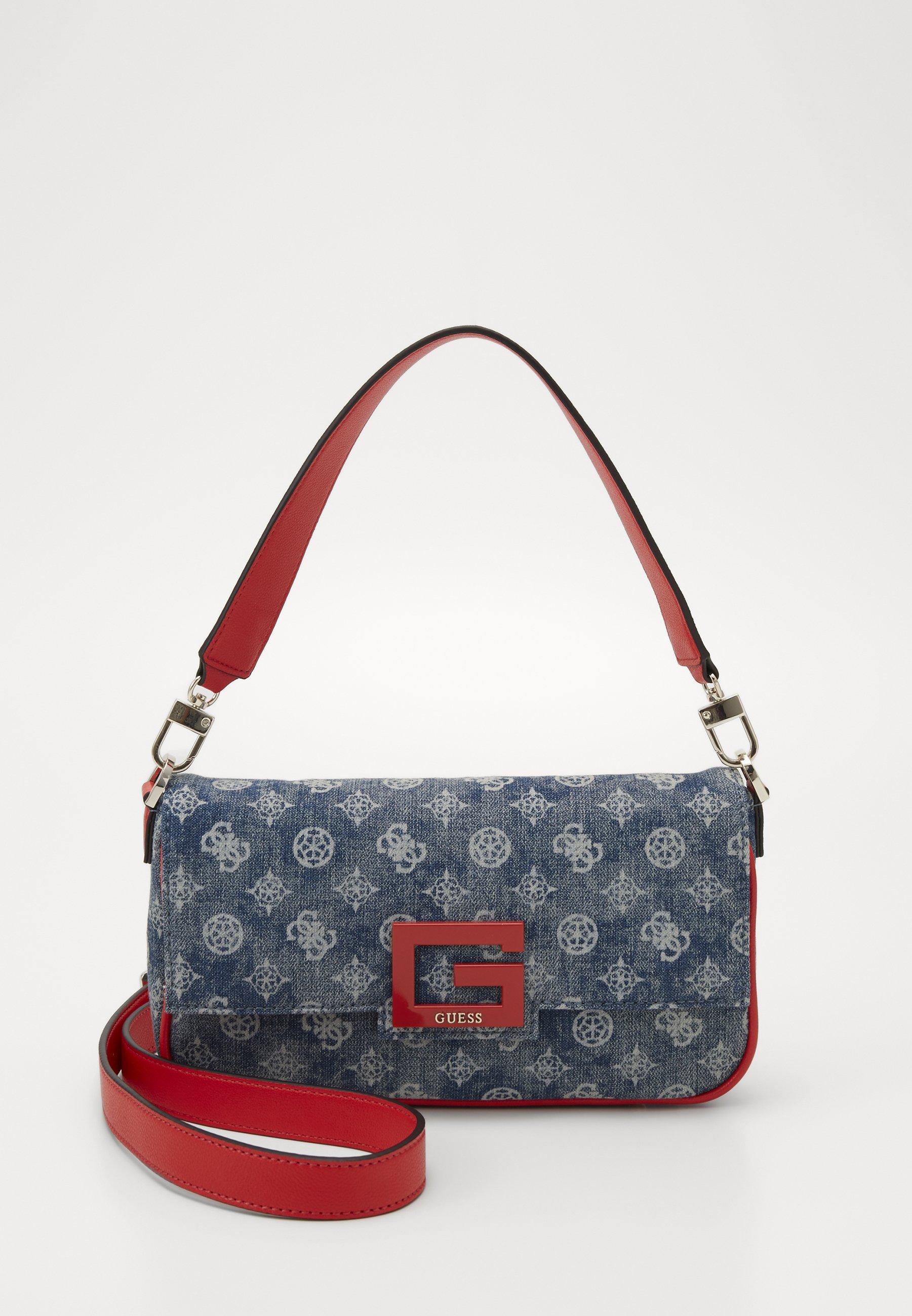 BRIGHTSIDE SHOULDER BAG Handväska denim multi