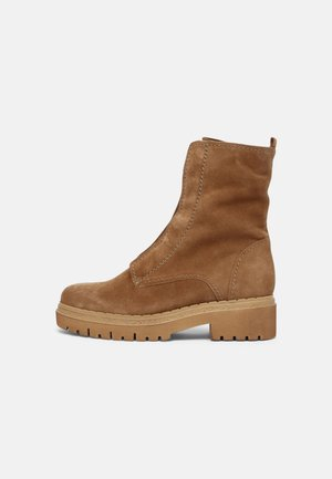 Lace-up ankle boots - lion