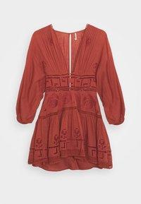 Free People - TEA TIME MINI - Day dress - rust worthy - 5