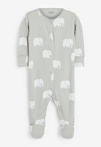 Next - 3 PACK - Pyjamas - grey - 2