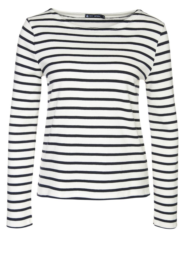 Petit Bateau - Sweatshirt - weiß/blau