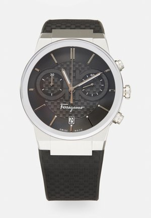 Chronograaf - silver-coloured/black