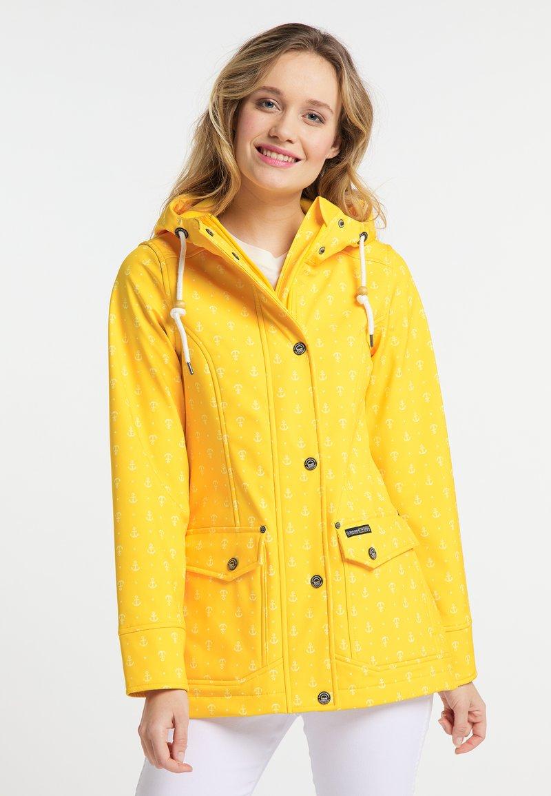 Schmuddelwedda - Outdoorová bunda - yellow