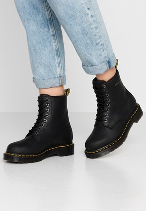 1460 WP - Platform ankle boots - black republic