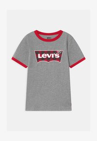 Levi's® - GRAPHIC RINGER UNISEX - Triko s potiskem - grey heather - 0