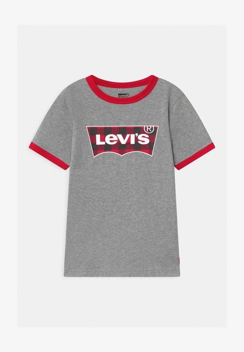 Levi's® - GRAPHIC RINGER UNISEX - T-shirt print - grey heather
