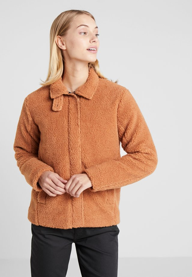 VALBORG WOMEN'S JACKET - Giacca outdoor - toffee brown