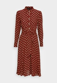 King Louie - SHEEVA DRESS PABLO - Shirt dress - merlot brown - 3