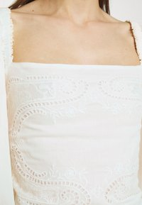 Farm Rio - BLOUSE - Long sleeved top - off-white - 6
