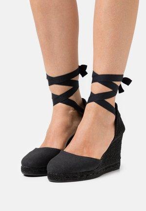 COLIN - Sandály na vysokém podpatku - black