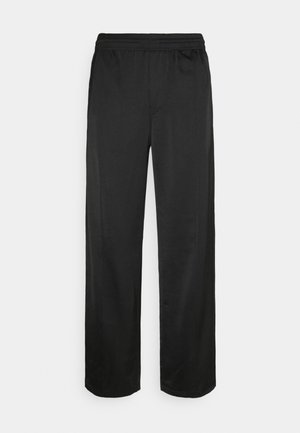 KEN STAIN TRACK PANTS UNISEX - Trousers - black