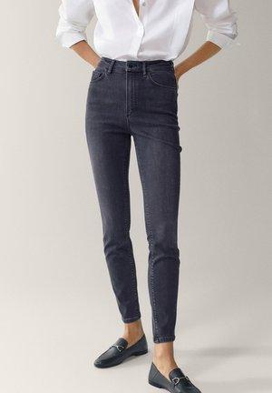 HOHEM BUND - Jeans Skinny Fit - grey