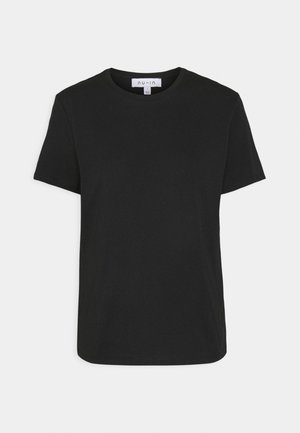 BASIC CREW NECK - Basic T-shirt - black