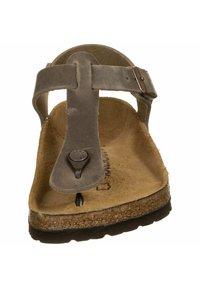 Birkenstock - T-bar sandals -  brown - 5