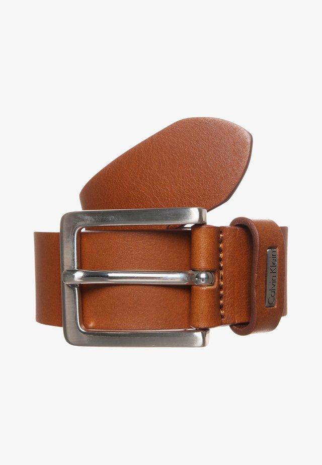 MINO - Belt - cognac