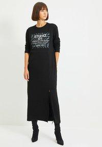 Trendyol - Maxi dress - black - 0
