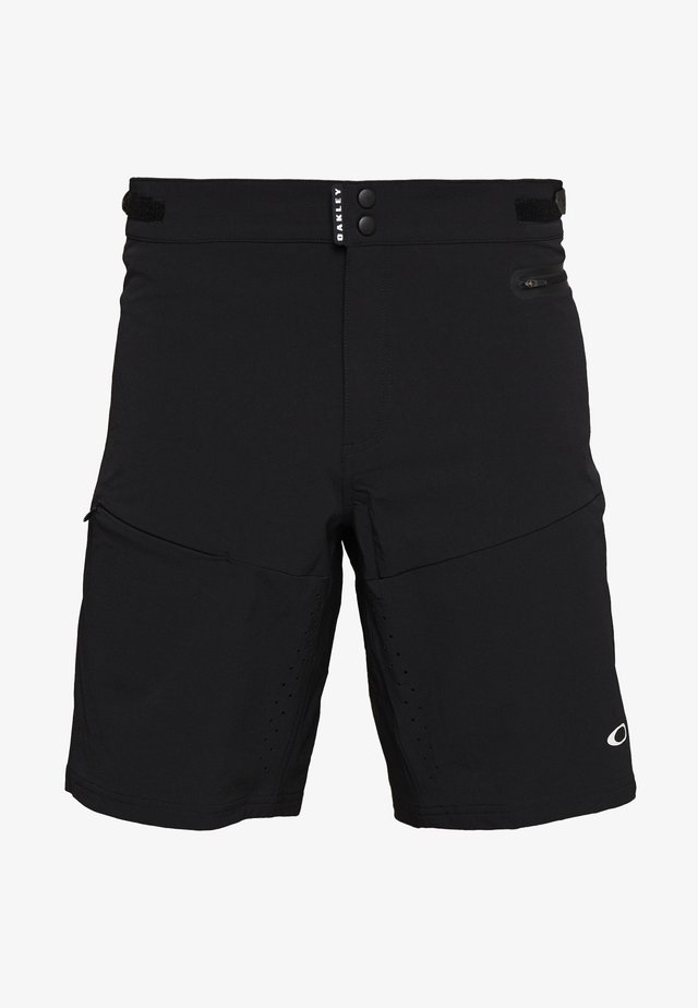 TRAIL SHORT - Korte broeken - black