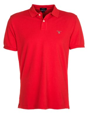 THE ORIGINAL RUGGER - Polo - bright red