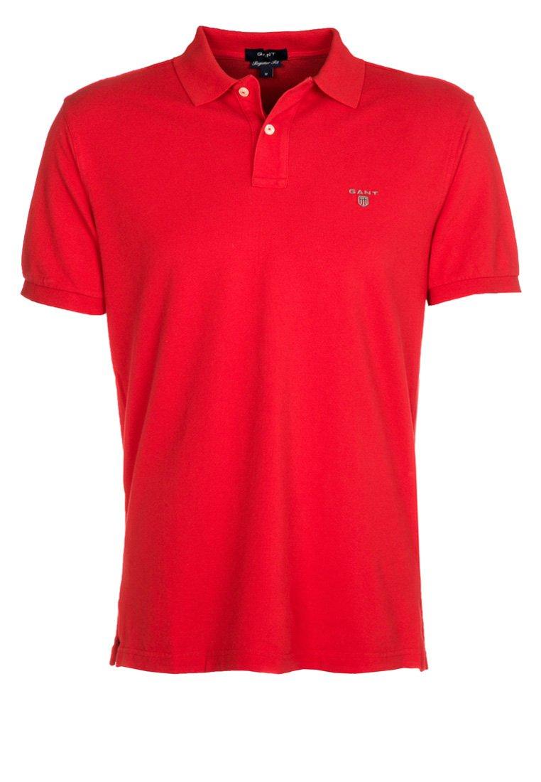 GANT - THE ORIGINAL RUGGER - Poloshirt - bright red