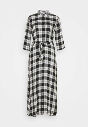 JDYSTAY MIDCALF DRESS - Sukienka koszulowa - black/white