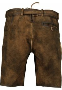 Spieth & Wensky - Leather trousers - tabak/st 238 holz - 1