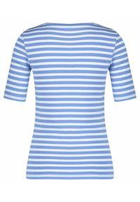 GANT - GANT DAMEN SHIRT KURZARM - Print T-shirt - blau - 1
