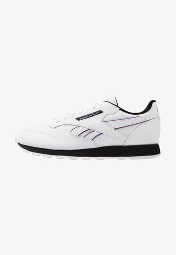 CL - Tenisky - white/black/silver metallic