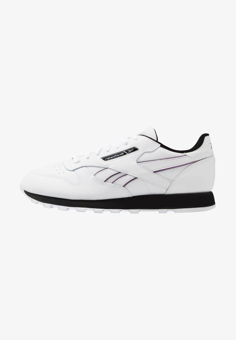 Reebok Classic - CL - Trainers - white/black/silver metallic