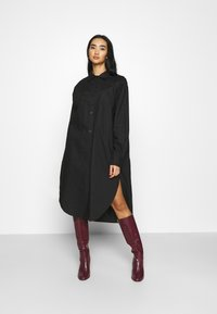 Monki - CAROL DRESS - Shirt dress - black dark - 0