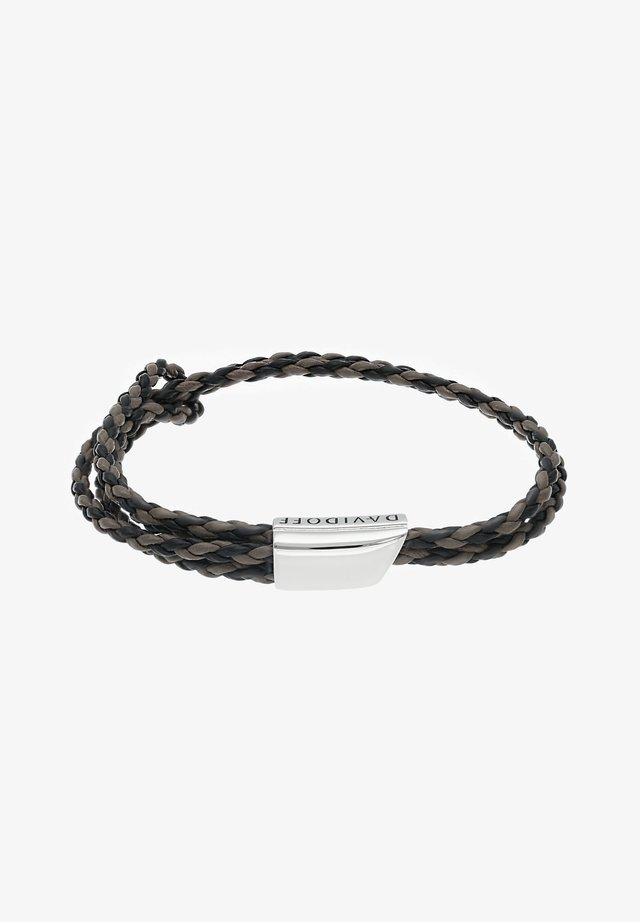 CROSSROADS - Bracciale - schwarz/braun