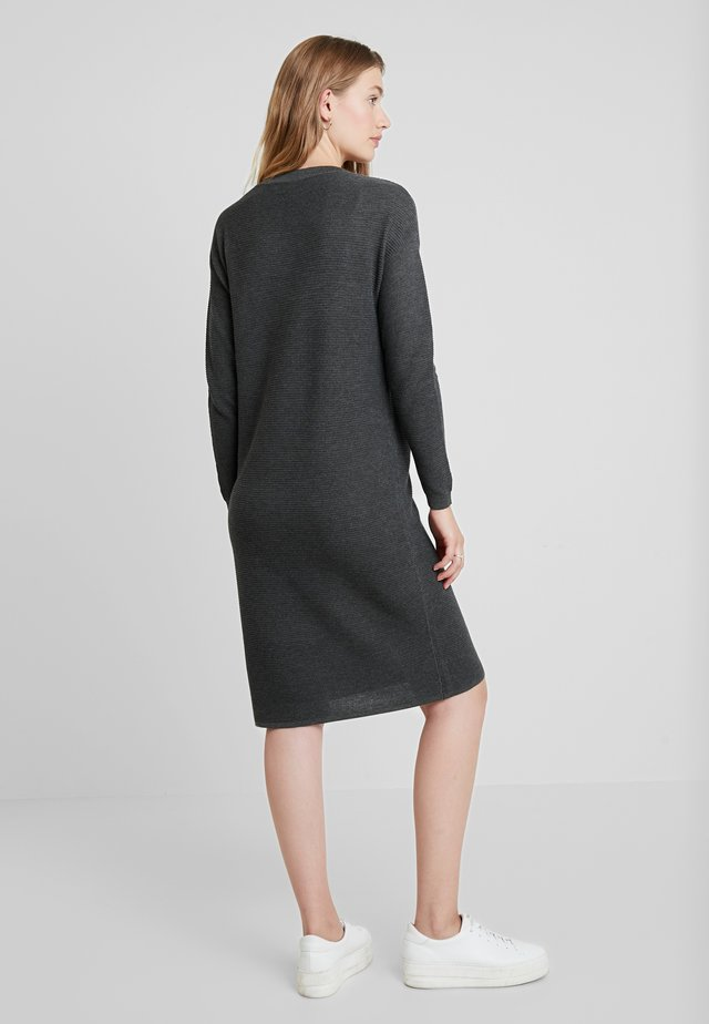 NIAKA - Jumper dress - dark grey melange