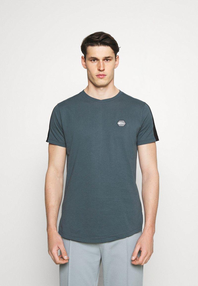 Smilodox - Print T-shirt - graublau