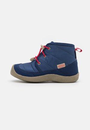 HOWSER II CHUKKA WP UNISEX - Hiking shoes - blue depths/red carpet