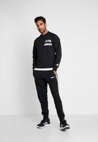adidas Performance - VRCT CREW - Collegepaita - black/white - 1