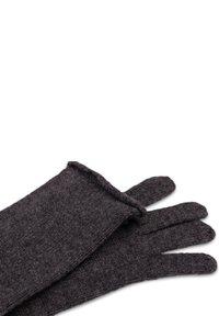 CASH-MERE - LANG - Gloves - anthrazit - 3
