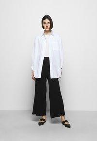 Filippa K - CELESTE TROUSER - Trousers - black - 1