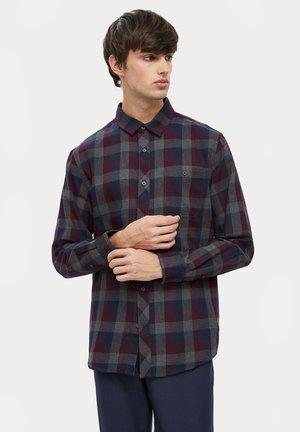 LONG SLEEVED - Shirt - dark grey